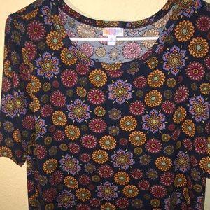 LuLaRoe Dresses - 💅🏼 LuLaRoe flower dress